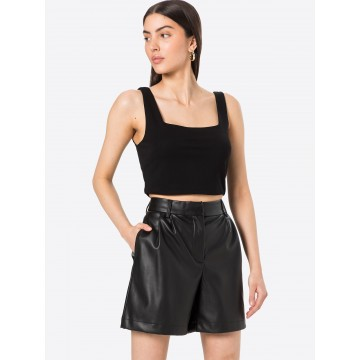 ABOUT YOU Top 'Maja' in schwarz