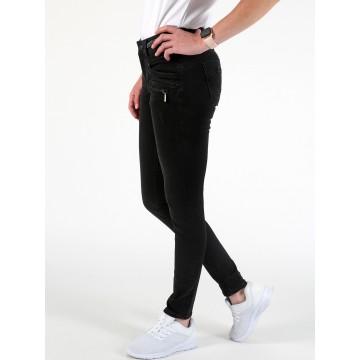 Miracle of Denim Skinny Fit Jeans in schwarz