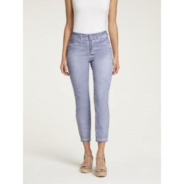 Linea Tesini by heine Jeans in taubenblau