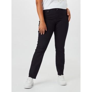 Vero Moda Curve Jeans 'Manya' in schwarz