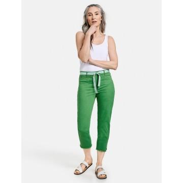 GERRY WEBER 3/4 Jeans in dunkelgrün