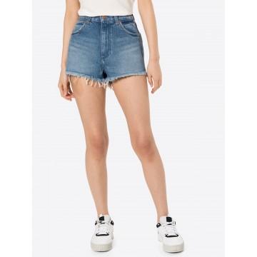 WRANGLER Shorts in blue denim
