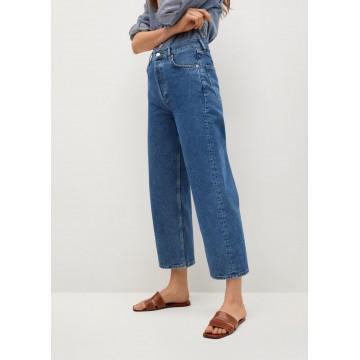 MANGO Jeans 'Gabriela' in blue denim