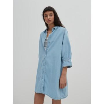 EDITED Kleid 'Siena' in blue denim