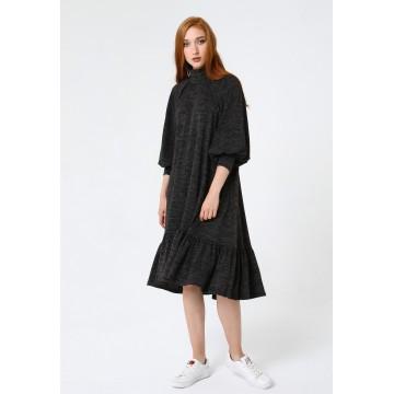 Madam-T Kleid 'Paliana' in schwarz