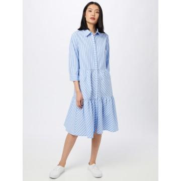 minus Kleid 'Dalina' in hellblau / weiß