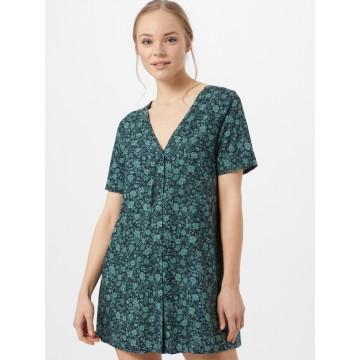 Motel Kleid 'Crosena' in grün / jade