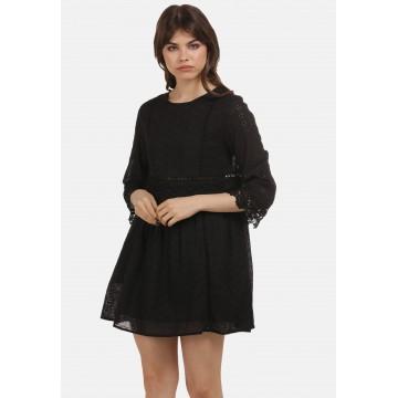 myMo ROCKS Kleid in schwarz