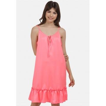 MYMO Sommerkleid in neonpink