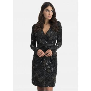 Nicowa Kleid in schwarz