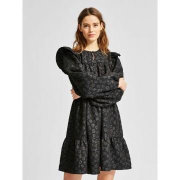 SELECTED FEMME Kleid in schwarz