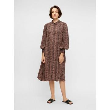 Y.A.S Kleid in braun