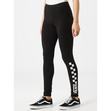 VANS Leggings in schwarz / weiß