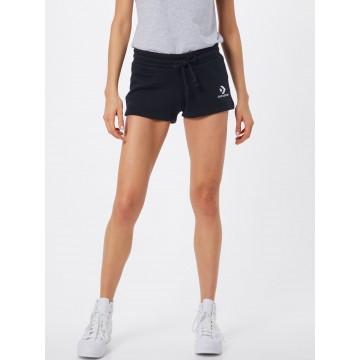 CONVERSE Shorts in schwarz / weiß