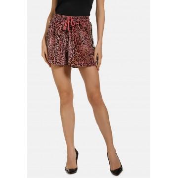 faina Shorts in braun / gold / rosé / schwarz