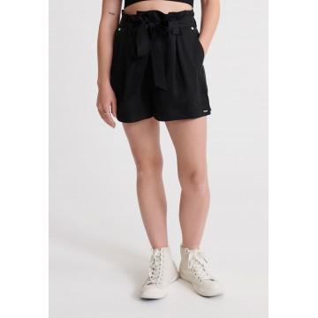 Superdry Shorts 'Desert Paper' in schwarz
