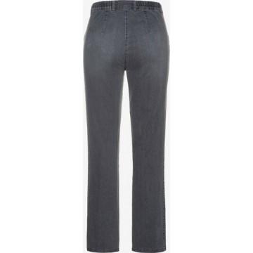 Ulla Popken Jeans 'MONY' in grey denim