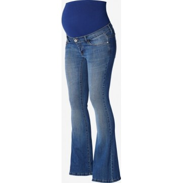 Supermom Jeans ' Flared Blue ' in blau