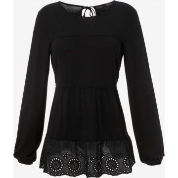 Aniston CASUAL Shirt in schwarz