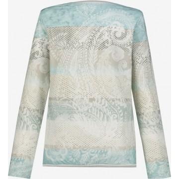 Gina Laura Sweatshirt in mischfarben