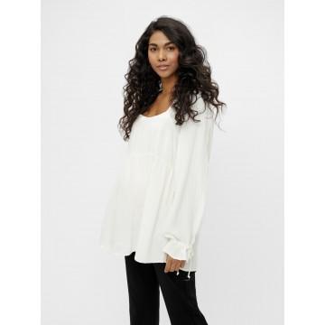 MAMALICIOUS Shirt 'Vivian' in offwhite