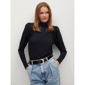 MANGO Shirt 'Belinda' in schwarz