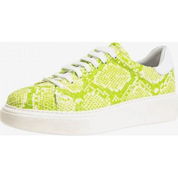 INUOVO Sneaker in neongelb / limette / weiß
