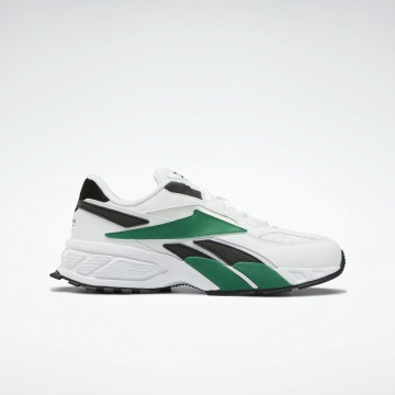 Reebok Classic Sneaker in grün / schwarz / weiß