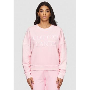 Cotton Candy Sweatshirt 'ROSE' in pink