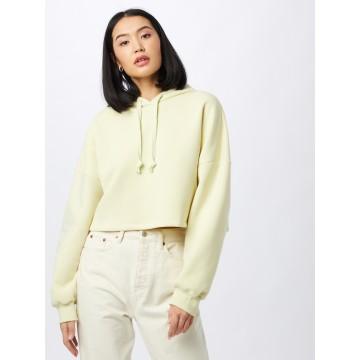 Gina Tricot Sweatshirt in hellgelb