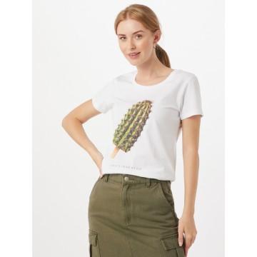 EINSTEIN & NEWTON T-Shirt 'Cactus Ice' in mischfarben / weiß