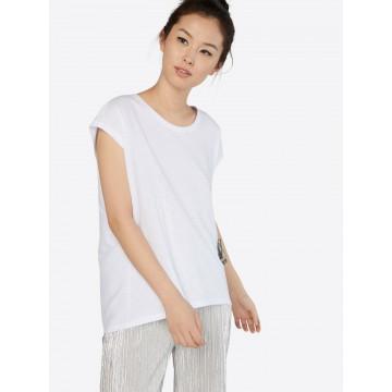 Noisy may T-Shirt 'Mathilde' in weiß