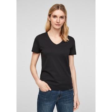 s.Oliver T-Shirt in schwarz