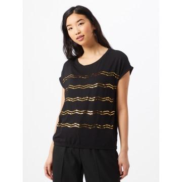 ZABAIONE Shirt 'Miranda' in gold / schwarz