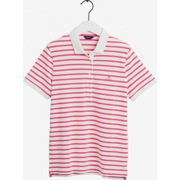GANT Shirt in pink / weiß