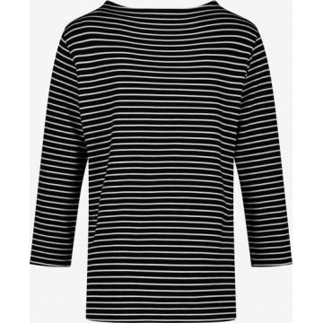 GERRY WEBER 3/4 Arm Shirt in schwarz